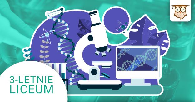 Okładka kursu z Biologii do 3-letniego liceum Biotechnologia