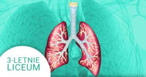 Okładka kursu z Biologii do 3-letniego liceum Człowiek - układ oddechowy