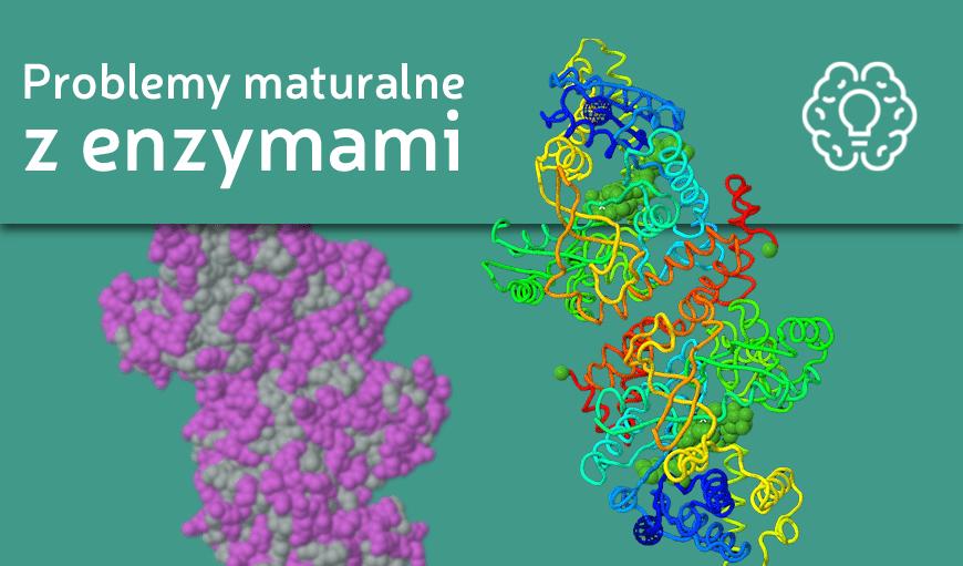 Grafika wyróżniająca do wpisu Problemy maturalne z ... enzymami