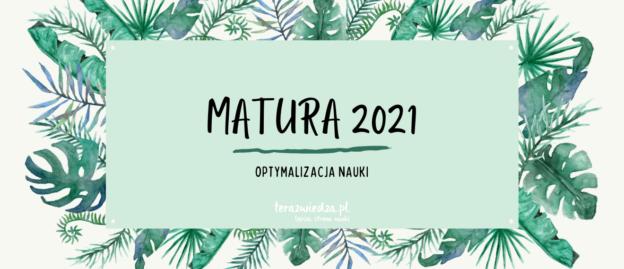 Obrazek wyróżniający do wpisu Przygotowania do matury z biologii 2021